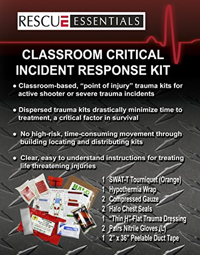 Classroom Critical Incident Response Kit Ccirk By Rescue