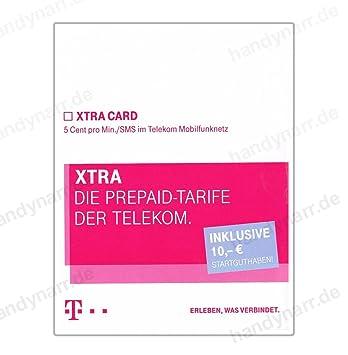 T Mobile D1 Xtra Card Smstelf 5 Cent Mit Amazonde Elektronik