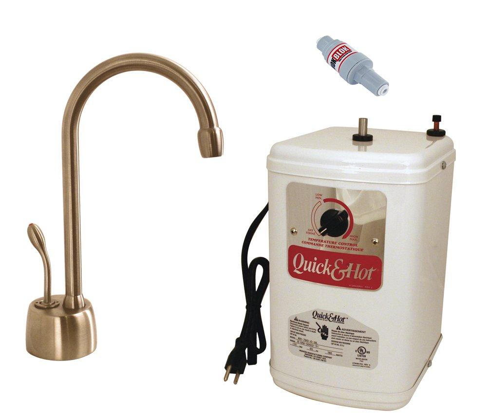 Westbrass D271HFP-11 Velosah Contemporary Hot Water Dispenser and Tank 9'' Antique Copper