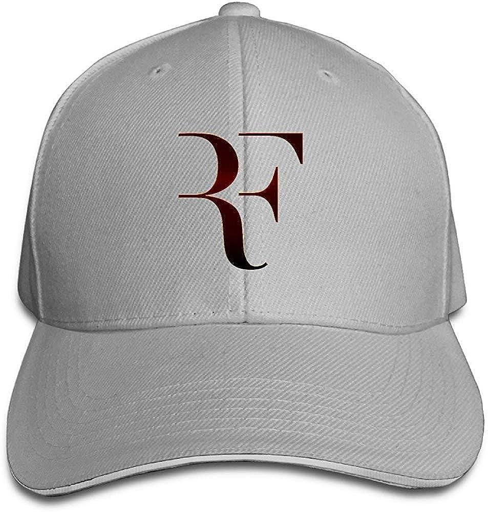 Miedhki Nubia Roger RF Federer Sandwich Peak Custom Hat Snapback Hat Black Fashion31