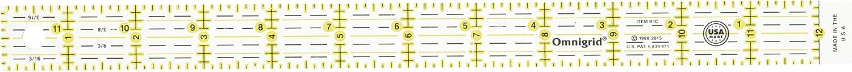 Omnigrid Quilter's Ruler, 1