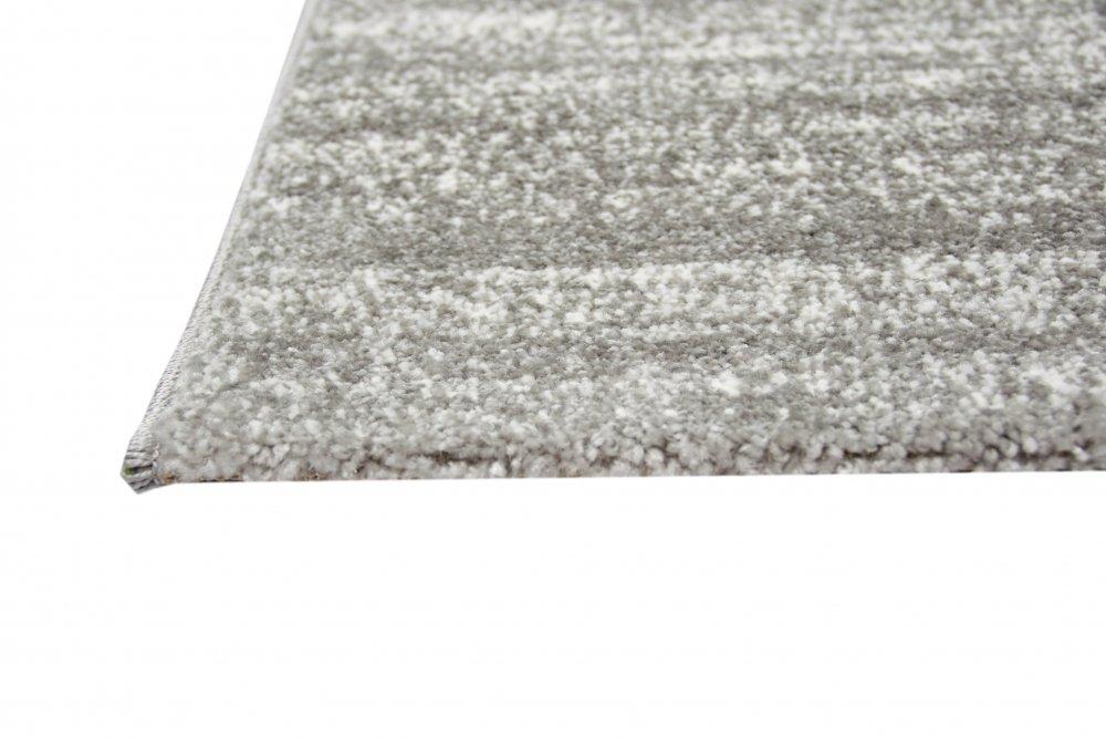 Carpetia Moderner Teppich Wohnzimmerteppich Kurzflor Uni Anthrazit Grau Meliert cm Größe 200 x 290 cm Meliert 0d1343