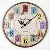 Silent Large Decorative Wall Clock Modern Design Round Wall Clock Home Decor 12888 Clock Movement Home Wall Watches style 11 16 inch