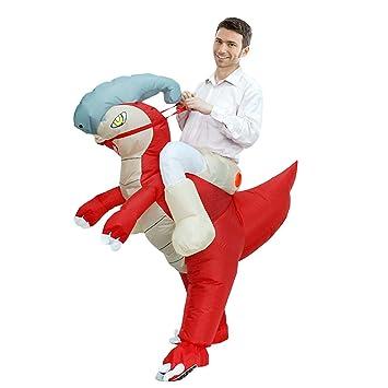LOVEPET Traje De Dinosaurio Adulto Inflable Montar A Caballo ...