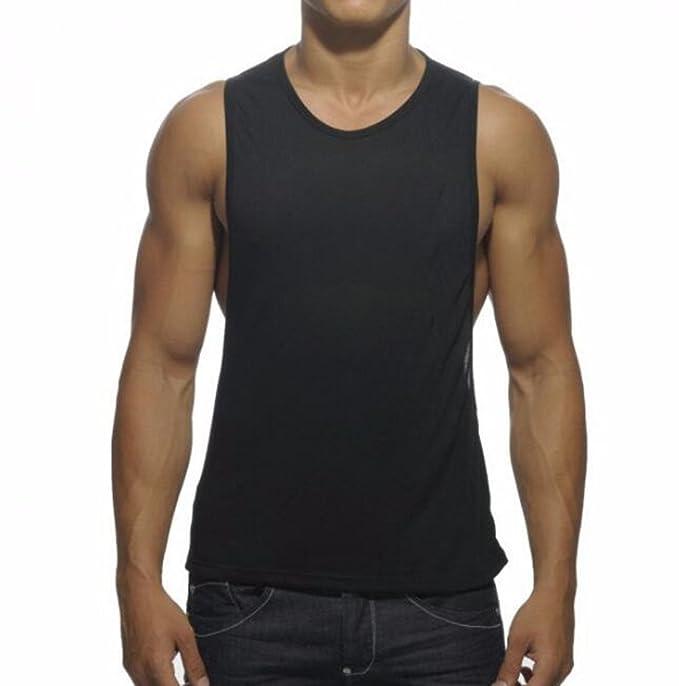 384a2e718606a Q Y Men s Muscle Cut Stringer Workout T-Shirt Bodybuilding Tank Top   Amazon.ca  Clothing   Accessories