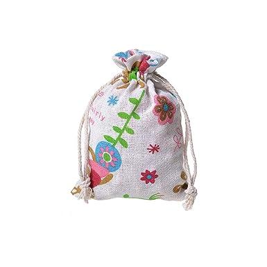 Amazon.com: 50 bolsas de algodón para joyería, bolsa de ...