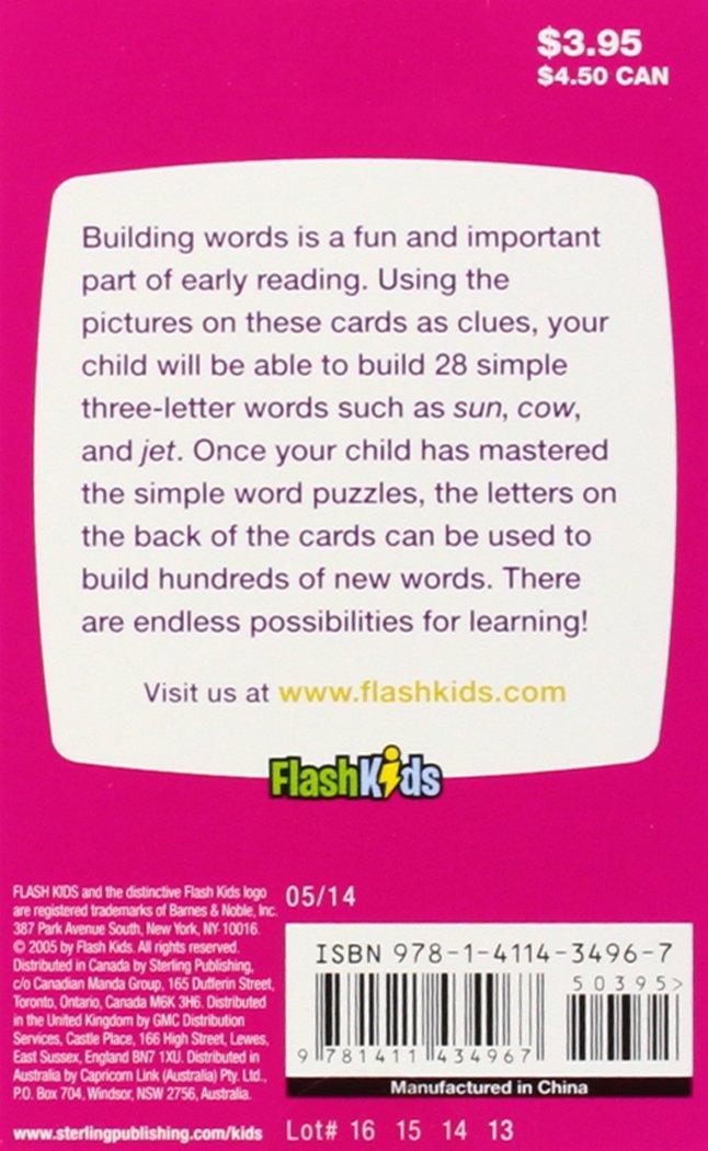 3 Letter Words Flash Kids Flash Cards Flash Kids Editors