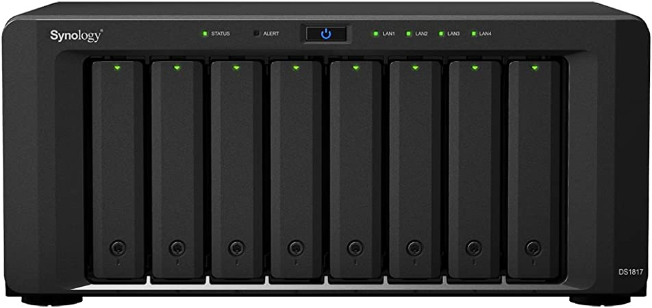 Synology DS1817/32TB-RED 8 Bay NAS -