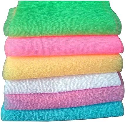 Clean Nylon Scrubbing Towel Nylon Wash Cloth Bath Towel Mesh Bath Shower