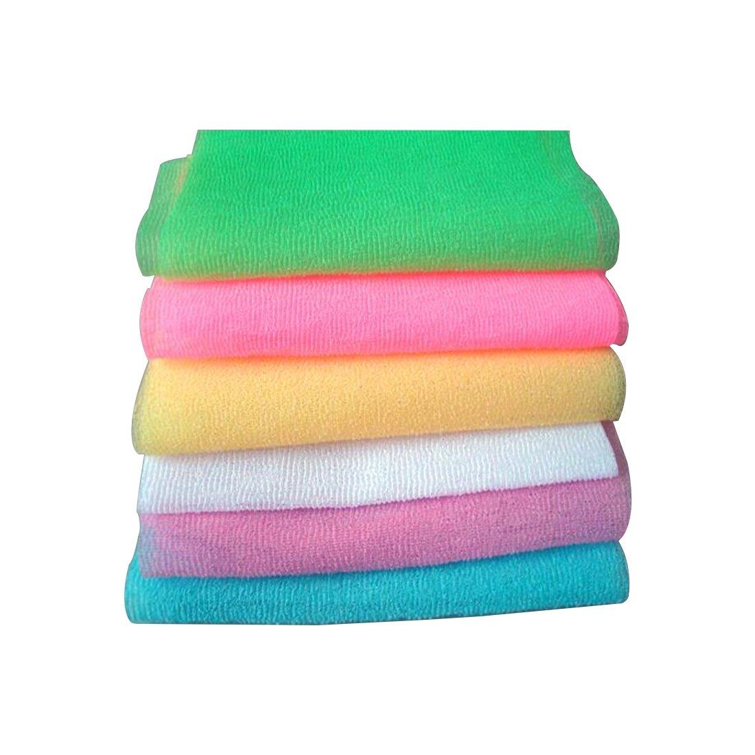 Bath Shower Nylon Scrubbing Towel Skin Cleaning Exfoliating Sponges