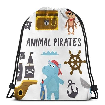 Conjunto de Animales aislados Piratas y Otros Elementos_375 ...