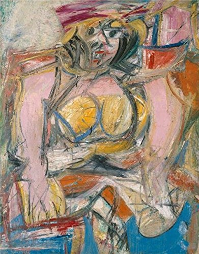 High Quality Polyster Canvas ,the Reproductions Art Decorative Canvas Prints Of Oil Painting 'Willem De Kooning,Woman IV,1952-1953', 24x31 Inch / 61x78 Cm Is Best For Powder Room Artwork And Home Gallery Art And Gifts (Monster Energy Comforter compare prices)