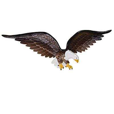 Montague Metal Products Color Wall Eagle, 24-Inch : Outdoor Plaques : Garden & Outdoor