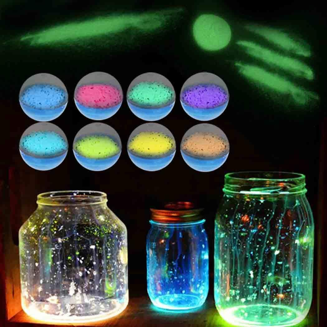 Hello22 - Bola de Arena Fluorescente Luminosa para decoración de ...