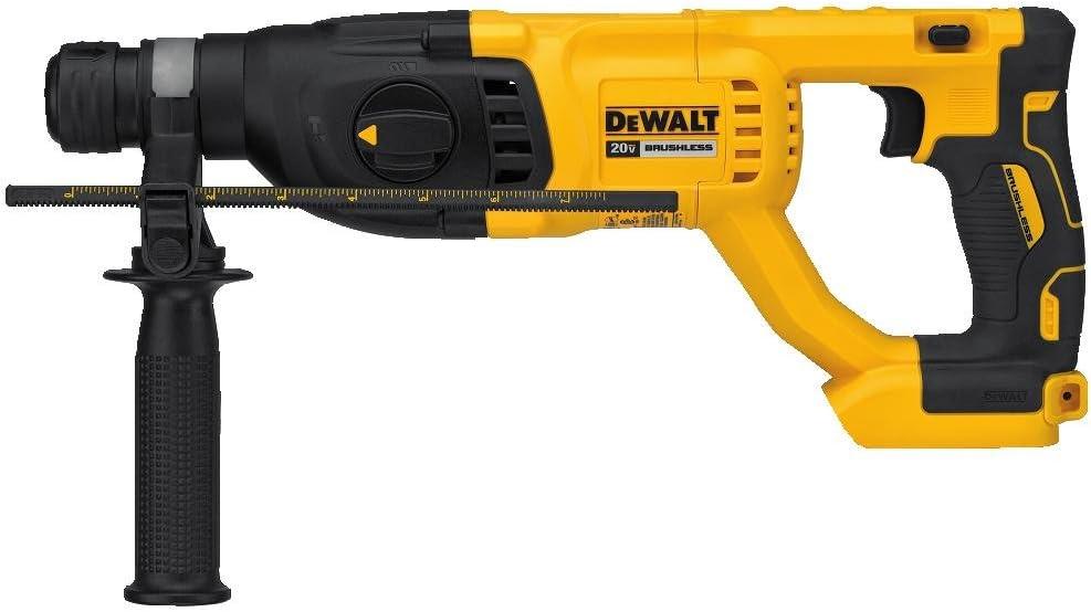 DEWALT 20V MAX XR Rotary Hammer Drill, D-Handle, 1-Inch, Tool Only DCH133B