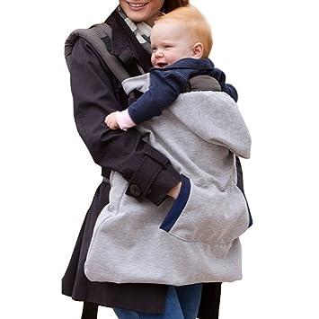 41e2ba97450a TININNA Multifonctionnel Housse de Protection Porte-Bébé Echarpe Baby Wrap  Transporter Couverture Coupe-Vent
