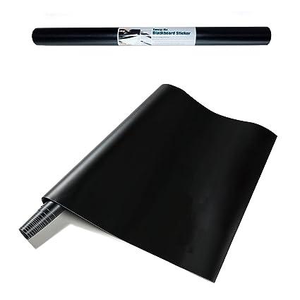 Fancy Fix Tafelfolie Schwarz Selbstklebende Tafel Aufkleber Blackboard Folie Leicht Anbringbare Und Abwischbare Kreidetafel Sticker Rolle