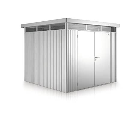 Biohort metal Cobertizo Highline con doble puerta