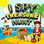 I Spy Treasure Hunt: A Fun Activity Book Things Guessing Game for Kid, Toddler and Preschool, Perfect Gift - L