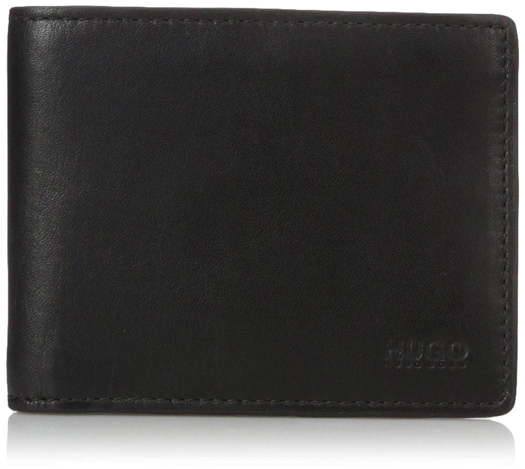 HUGO Hugo Boss Subway 6 Credit Card Pocket Leather Wallet Accessory black One Size 50317277