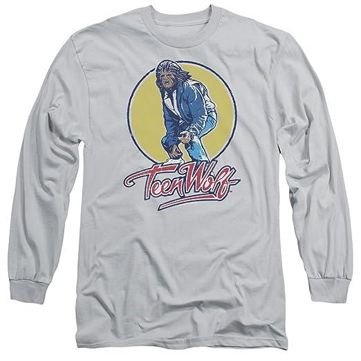 d55b880a2e Amazon.com  A E Designs Teen Wolf T-Shirt Van Surfing Long Sleeve Shirt   Clothing