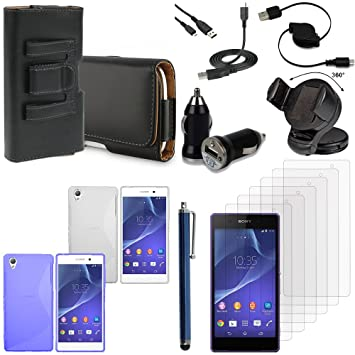 Vcomp® Sony Xperia Z3 D6603 D6643 D6653 D6616: Lot - Funda ...
