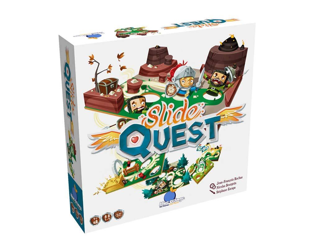Mixed Colours Blue Orange BLUSQW01 Slide Quest