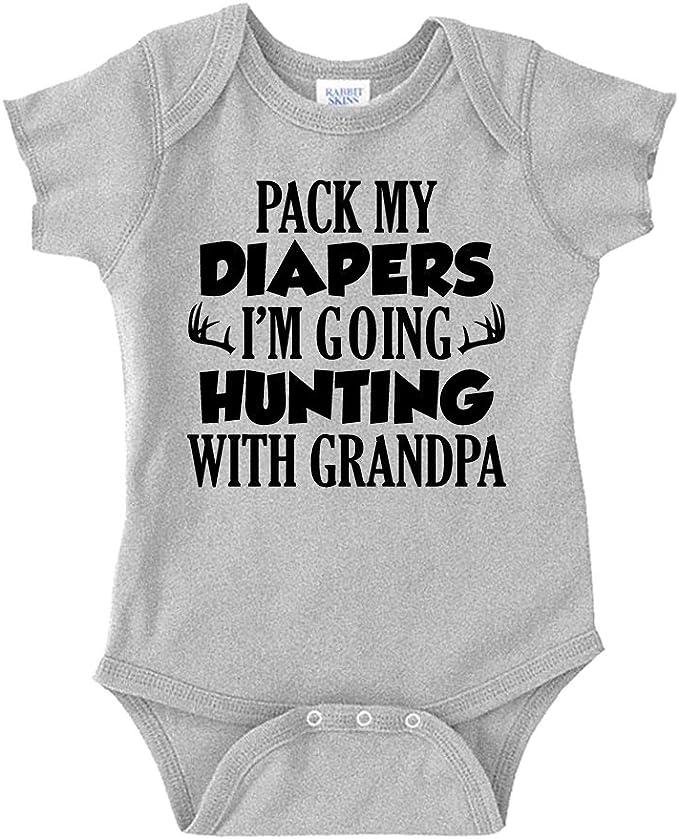 Grandma/'s Future Hunting Buddy Baby Onesie