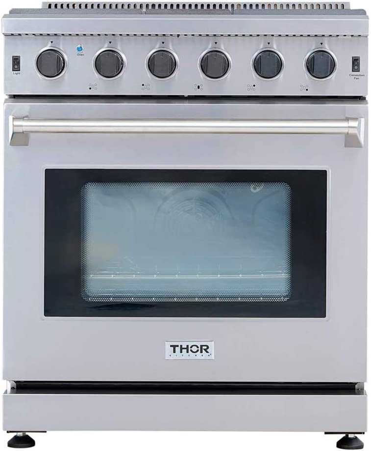Thor Kitchen 30 inch Freestanding Pro-Style Gas Range review