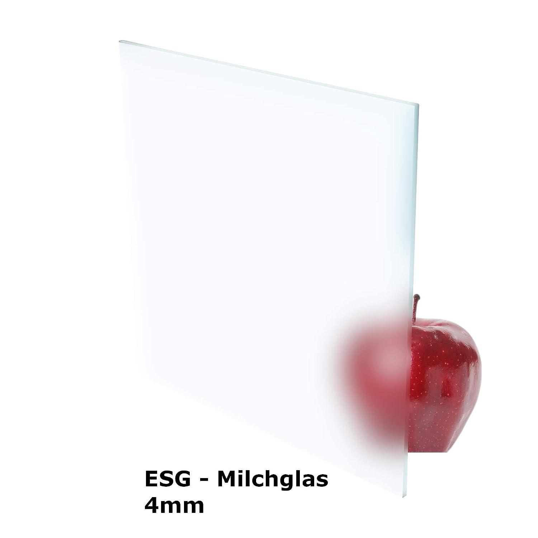 Glasplatte//Tischplatte//Glasscheibe//Kaminplatte//Kaminglas nach Ma/ß Sonderanfertigung m/öglich 8mm St/ärke//Dicke VSG Verbundsicherheitsglas TYP 44.2 mit geschliffene und klar Polierte Kanten