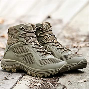 Outdoor Trekking Boots Men Military Tactical Hiking Shoes Botas Tactica Militar Non-Slip Breathable Mountain