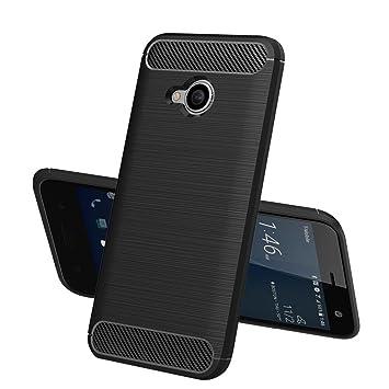 sale retailer 1b0b7 b47df HTC U11 Life case, TopACE Durable Slim Armour Protective Soft Back Case  Cover for HTC U11 Life Smartphone (Black)