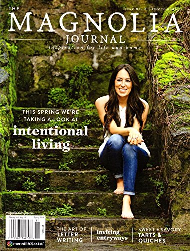 THE MAGNOLIA JOURNAL MAGAZINE #6 SPRING 2018, INSPIRATION FOR LIFE & - Shipping International Rate Rates Flat
