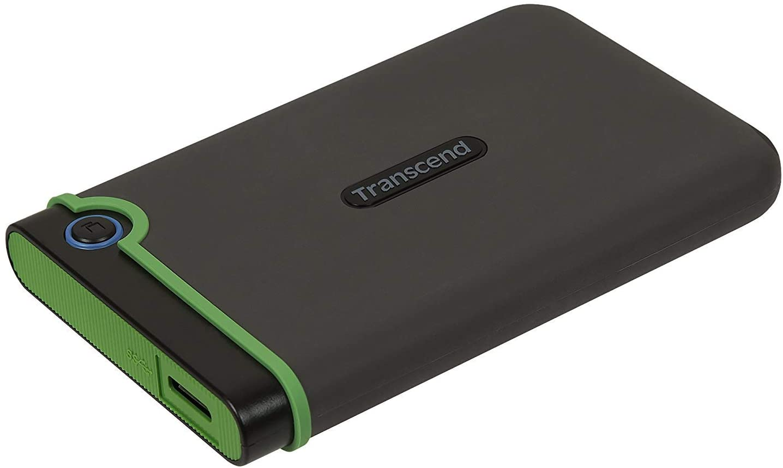 Transcend StoreJet 25M3G - Disco duro externo de 1 TB (USB 3.1 Gen ...