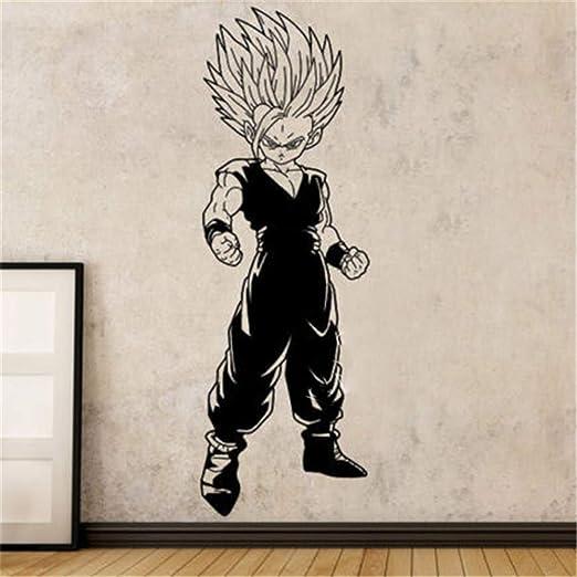 Dragon Ball Adhesivos de pared Comics japoneses Super Saiyan Gohan ...