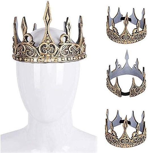 Corona Da Uomo Costume Medievale Adulti Costume Outfit Nuovi Royal Kings Robe
