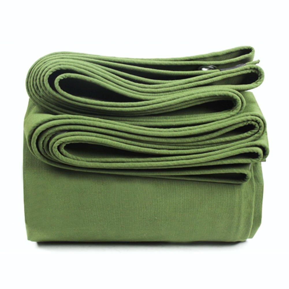 WUFENG オーニング 超厚い キャンバス 防水 日焼け止め ネラ 暖かく保つ リノリウム シェード 屋外 断熱 耐摩耗性 厚さ0.85mm 600g/M2 (色 : 緑, サイズ さいず : 4x4m) B07DGCBXJ4 15914 4x4m|緑 緑 4x4m