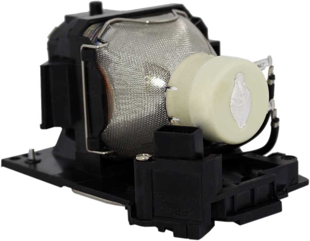 AuraBeam Economy Replacement Projector Lamp for Hitachi DT01381 with Housing