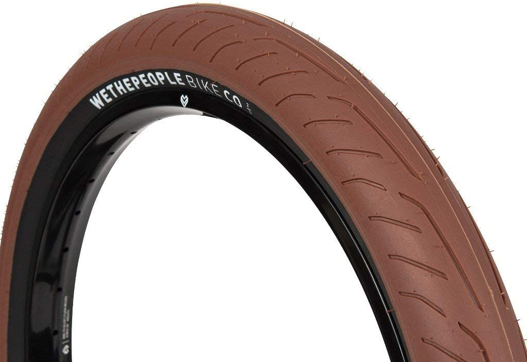 Wethepeople Stickin BMX - Cubierta para Bicicleta de montaña, 2,30 Pulgadas, Color marrón Oscuro y Negro: Amazon.es: Deportes y aire libre
