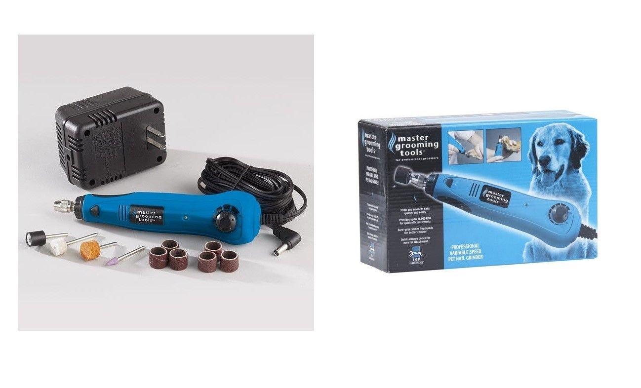 Professional Dog & Pet Nail Grinder Kit - Ergonomic & Fast Grinders for Dogs !!!