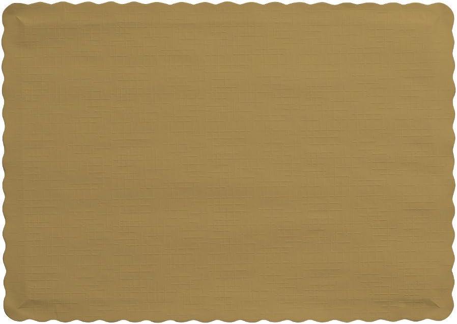 250 pcs 30x40 cf Placemats Paper Embossed Brown CM
