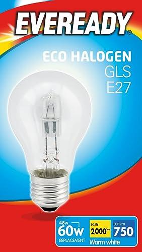 Eco Halogen Bulb Standard Shape 42 W E27 Box 1