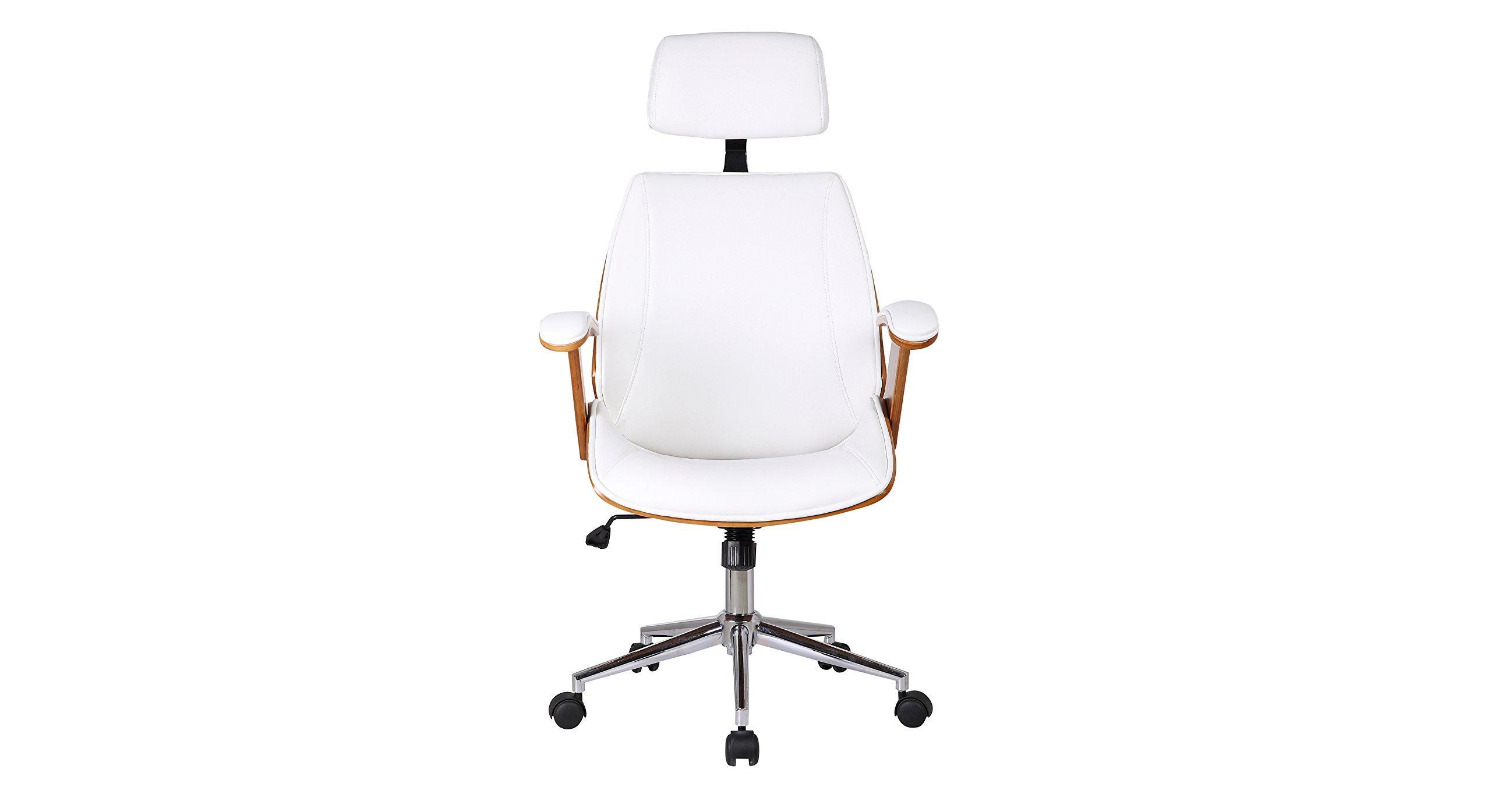Urban Ladder Ray Executive Study Chair (Colour : White)