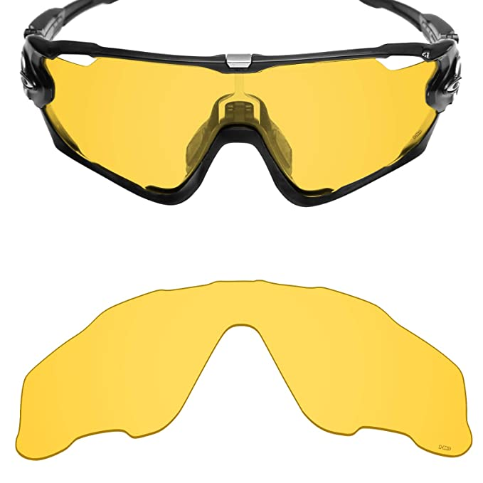 d4c33a983b Mryok+ Polarized Replacement Lenses for Oakley Jawbreaker - HD Yellow