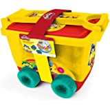 Play Dough DARP-CPDO148 Play-Doh My Creative Trolley with Accessories Set, Yellow/Red, 30-Piece