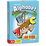 Better Letter Alphabet Go Fish Card Game for Kids - 104 Bridge-Sized Alphabet Cards
