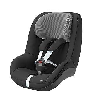 Bébé Confort Pearl, Silla de coche grupo 1 Isofix, negro (Black Raven)