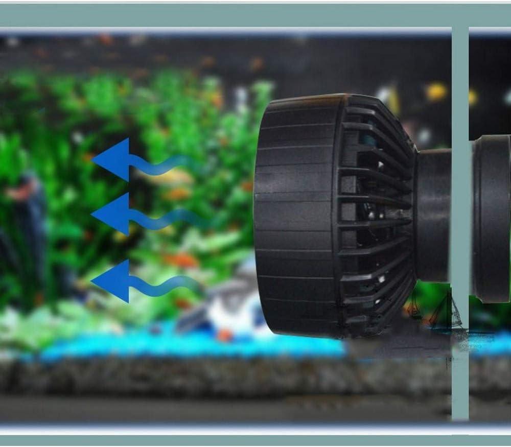 Wave Maker para acuario tanque de peces marinos – Bomba de agua fresca con control de onda sinusoidal, 4000-10000 l/h, bomba de flujo transversal, cabezal de bomba de hélice alimentada SLW-20