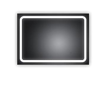 badezimmerspiegel mit led bochum 50x70cm waagerecht und senkrecht zu montieren