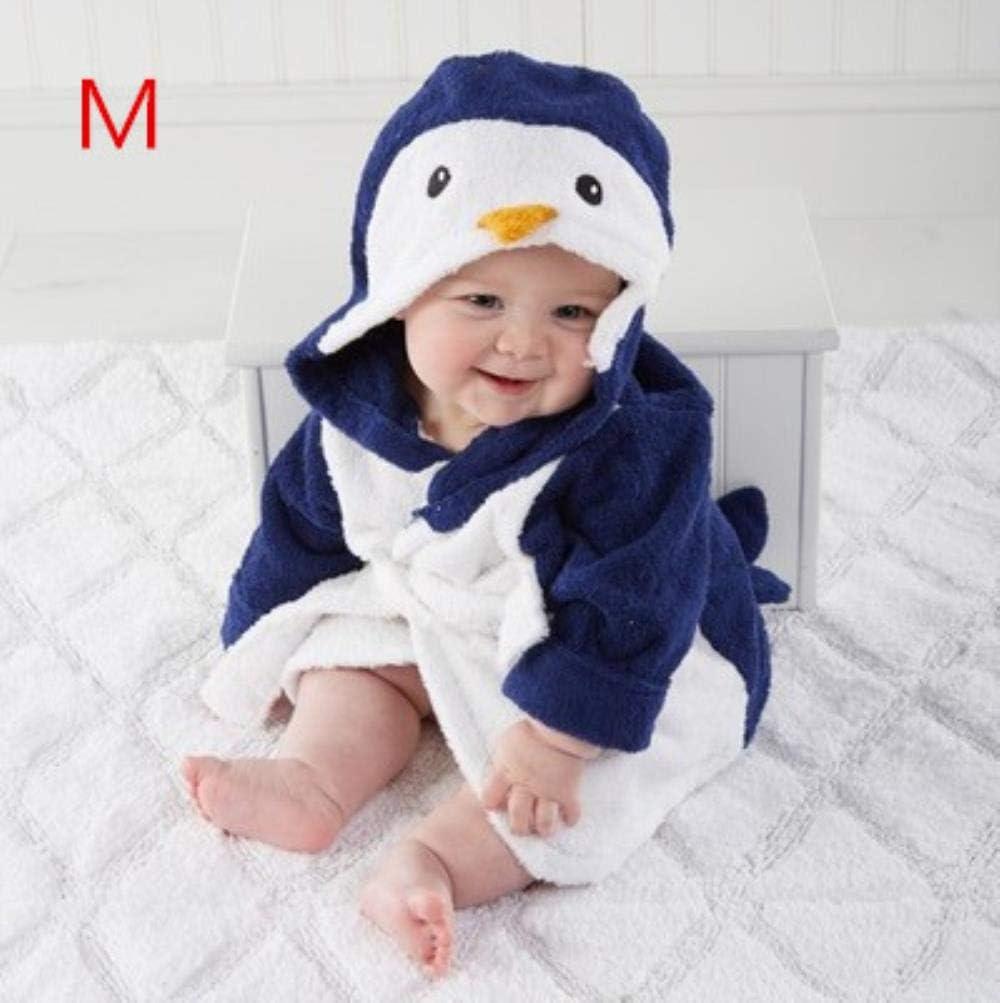 YIIVAN Toalla para bebé Toalla con Capucha de algodón Forma Animal ...